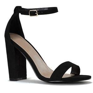Payless Brash Single Strap Heels